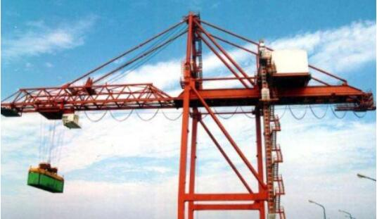 Crane to wharf economic development